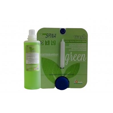 Gél s vôňou citrusov, zeleného čaju a železníka, 1 l