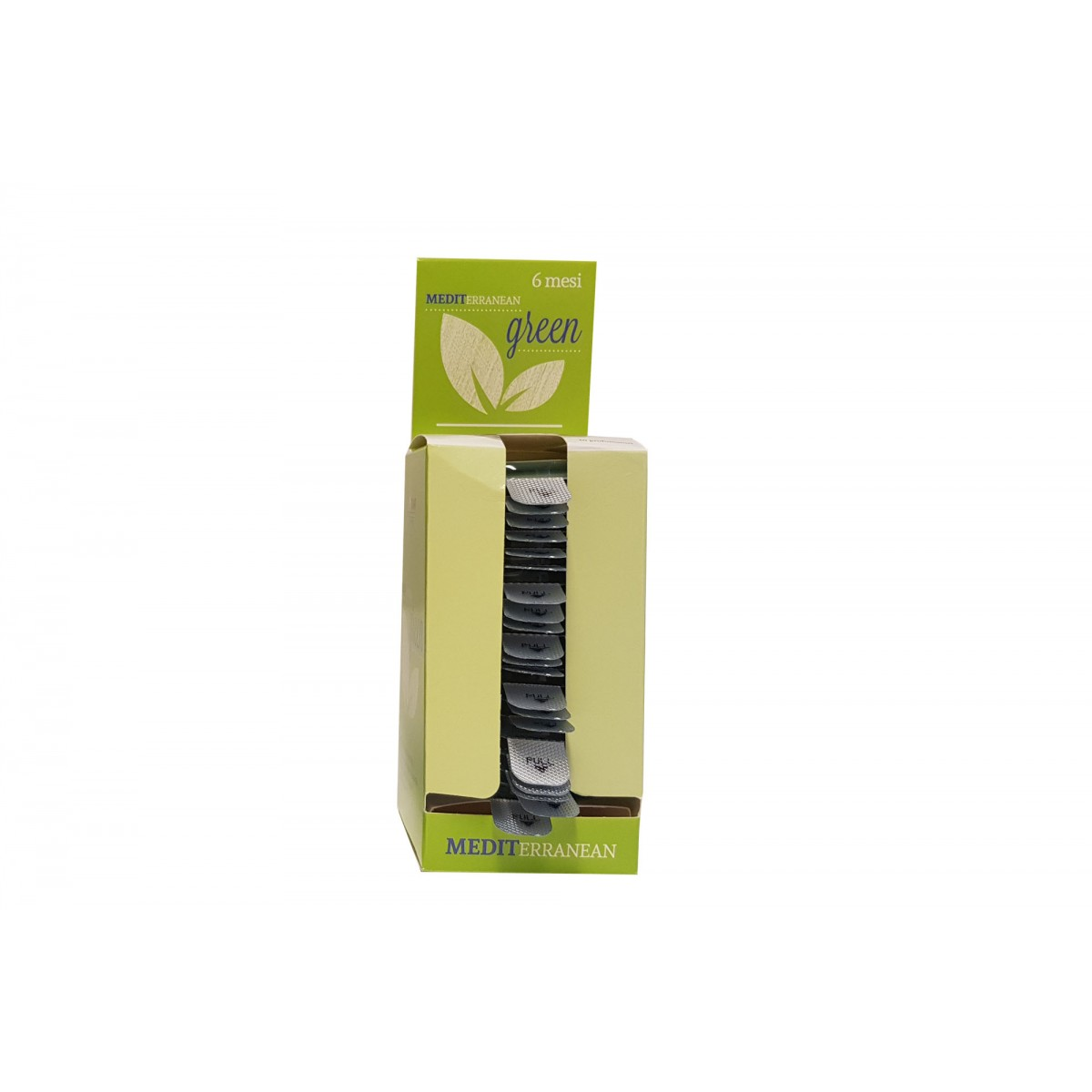 Plastová kazeta na prevoňanie priestoru GREEN, 1 ks