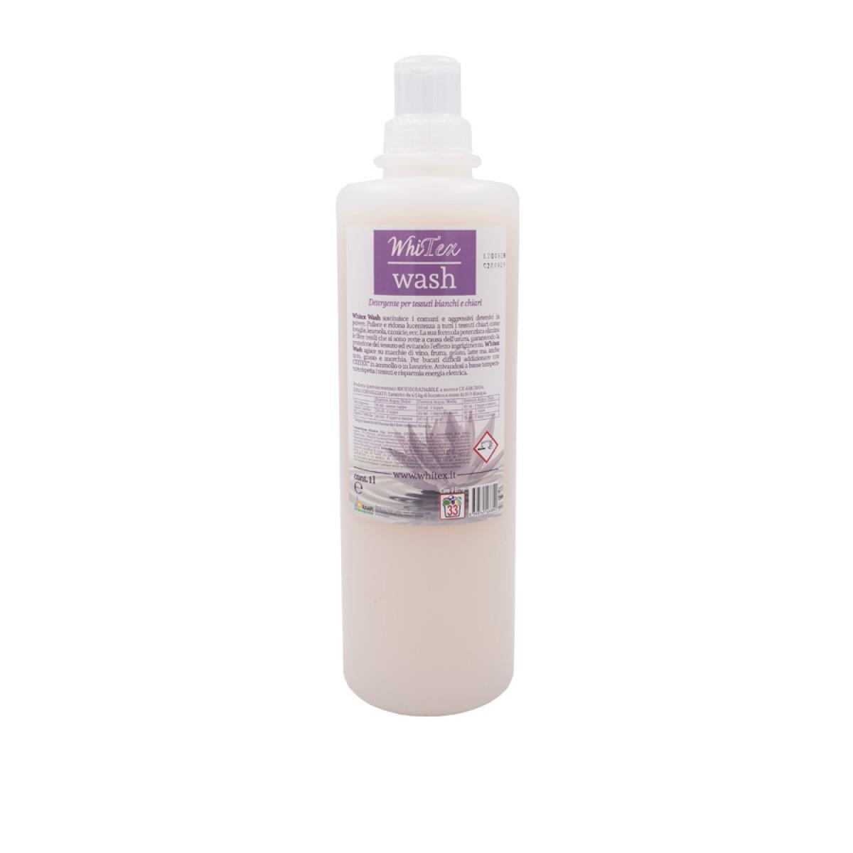 Profesionálna čistota a hygiena pre všetky biele textílie, 1 l
